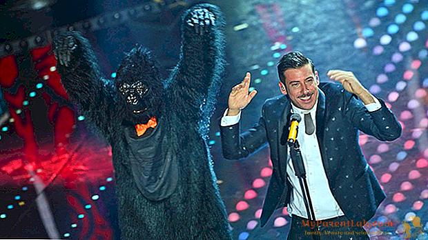 Francesco Gabbani menggairahkan penonton Eurovision di Konser di Amsterdam