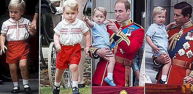 George de Cambridge, todo su padre William (como un niño)