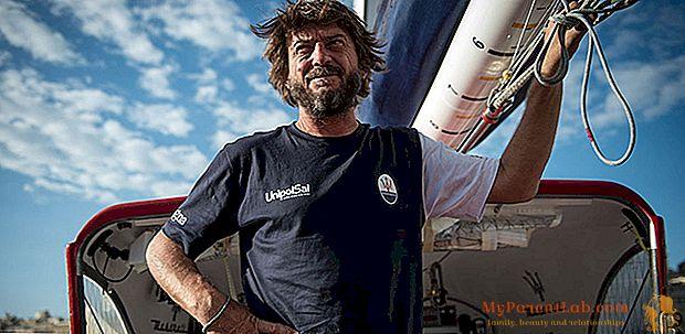"""Giovanni Soldini: """"Navego para mantener mis pies en el suelo"""""""