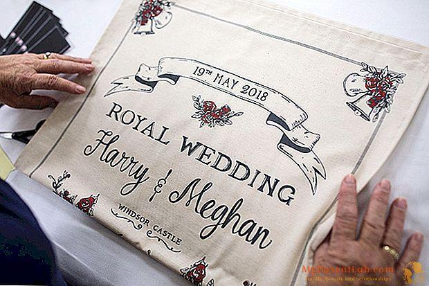 20点でMeghanとハリーの結婚のための準備