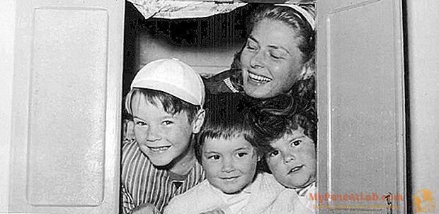 Ingrid Bergman contou por suas filhas em um documentário