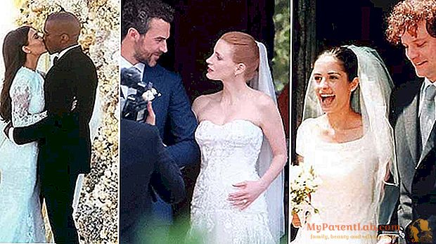 Jessica Chastain&Co:イタリアの星の結婚式