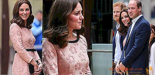 Kate Middleton, color rosa pastel para el tercer embarazo: ¿será femenina?