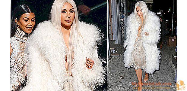 Ο Kim Kardashian είναι πίσω. ξανθιά