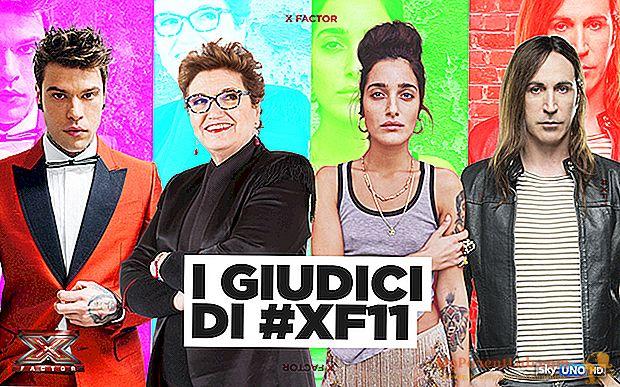 El nuevo jurado de X Factor 11: Fedez, Manuel Agnelli, Levante y Maionchi.
