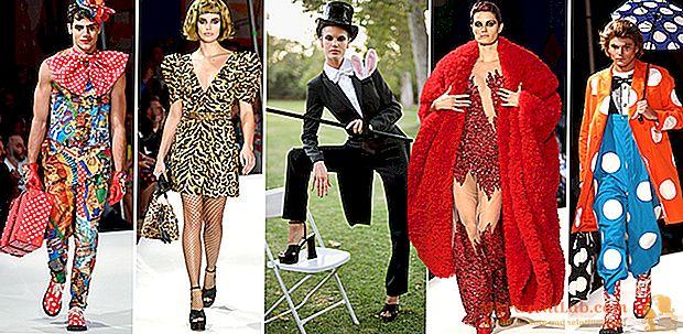 عرض أزياء موسكينو PE 2019 بين المشعوذين والنمور والبطاريات: الموضة عبارة عن سيرك