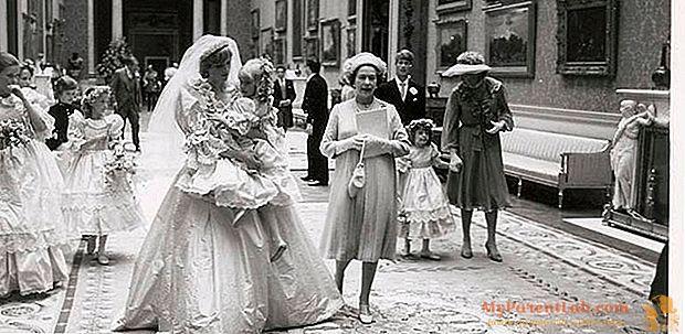 Lady Diana: photographies inédites de son mariage aux enchères
