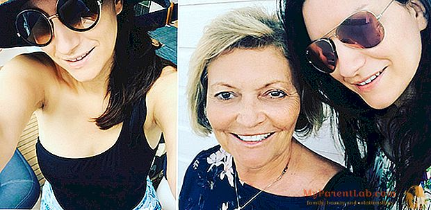 """لورا بوسيني: """"أمي ، أنت الأجمل في العالم"""""""