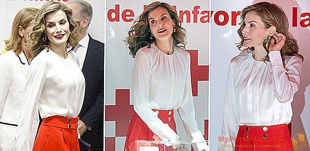 ليتيزيا اسبانيا ، ملكة الأناقة