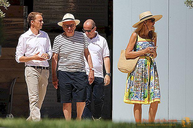 El tiburón y el modelo. Jerry Hall y Rupert Murdoch, vacaciones en la Riviera francesa