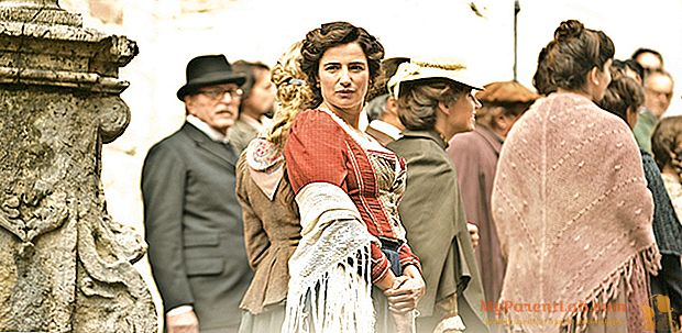 """لويزا رانييري في دور لويزا سبانيولي ، """"امرأة إيطالية حديثة ومجانية"""""""