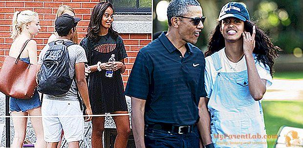 Malia Obama, primer día como estudiante de primer año en Harvard