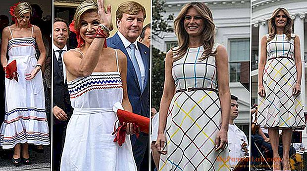 Melania Trump en Maxima of Holland: de folk-jurk is in de mode van Washington tot Milaan