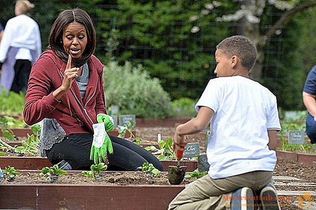 """מישל אובמה, """"המורה של הגנן"""""""
