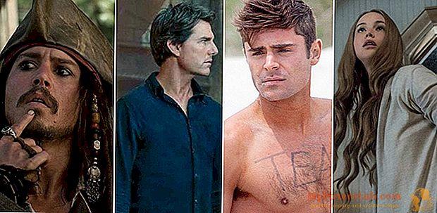 Nominierung Razzie Awards 2018. Unter den schlechtesten Schauspielern Jennifer Lawrence, Tom Cruise und Zac Efron