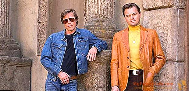 Érase una vez en Hollywood: Brad Pitt y Leonardo DiCaprio en la primera foto oficial