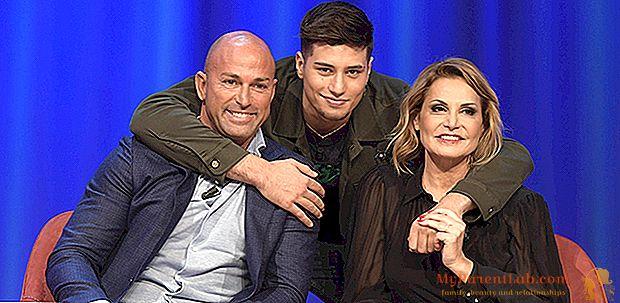 Ketakutan untuk Simona Ventura: putranya Niccolò menikam di luar disko