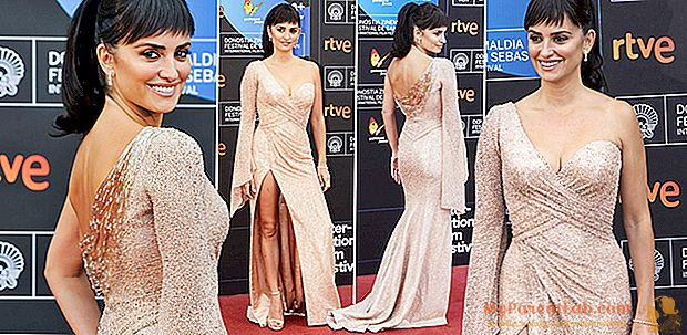 Penélope Cruz, sexy diva en la alfombra roja del Festival de Cine de San Sebastián