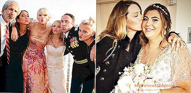 Ketika bintang itu menjadi saksi pengantin wanita