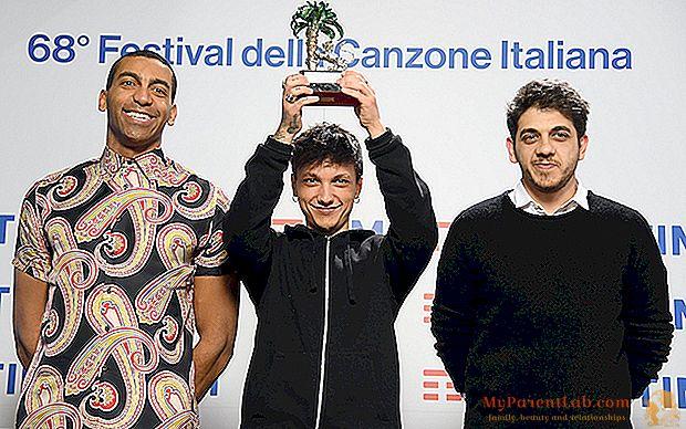 Sanremo 2018. Wer ist der Letzte, der Gewinner der neuen Vorschläge