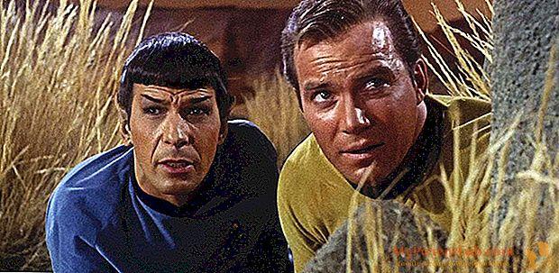 ستار تريك ، قبل 50 سنة الحلقة الأولى. الخيال العلمي لم يكن هو نفسه