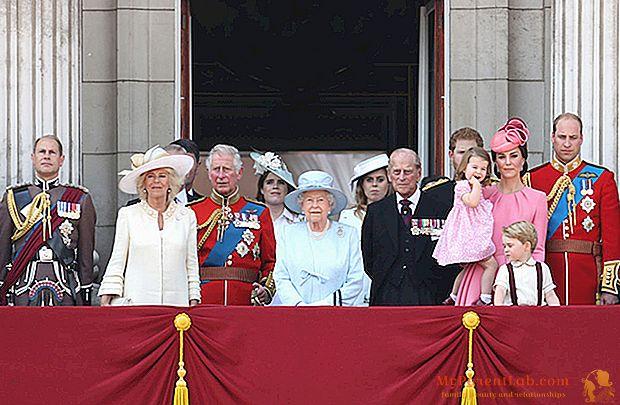 """Eine Schweigeminute eröffnet """"Trooping The Colour"""", die Happy Birthday Parade für Queen Elizabeth"""