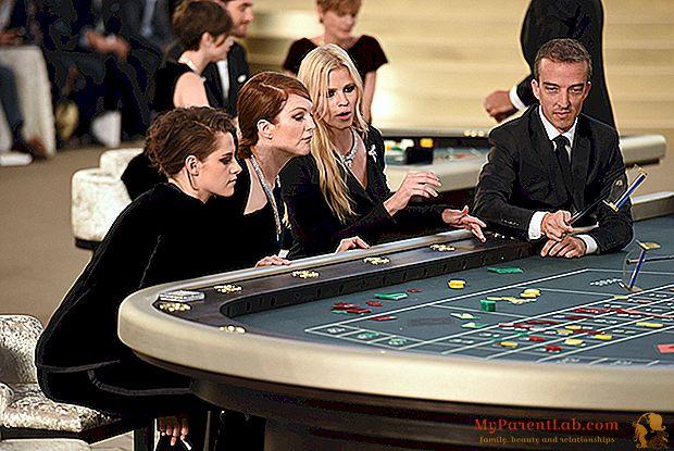 パリのオートクチュール:星はシャネルのキャットウォークでカジノで遊ぶ
